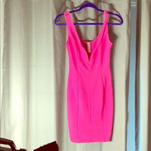 Hot pink summer dress size small